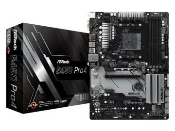 ASRock B450 Pro4 01 PCパーツ マザーボード | メインボード AMD用メインボード