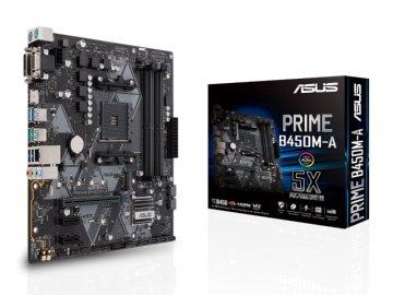 ASUS PRIME B450M-A 01 PCパーツ マザーボード | メインボード AMD用メインボード