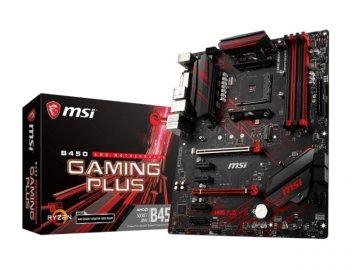 MSI B450 GAMING PLUS 01 PCパーツ マザーボード | メインボード AMD用メインボード
