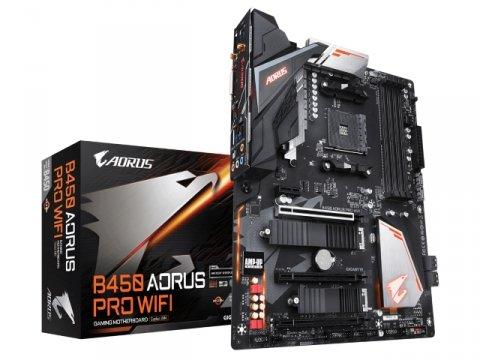 GIGABYTE B450 AORUS PRO WIFI 01 PCパーツ マザーボード | メインボード AMD用メインボード