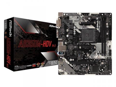 ASRock AB350M-HDV R4.0 01 PCパーツ マザーボード | メインボード AMD用メインボード