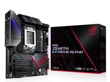 ASUS ROG ZENITH EXTREME ALPHA 01 PCパーツ マザーボード | メインボード AMD用メインボード