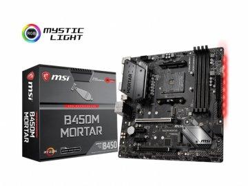 MSI B450M MORTAR 01 PCパーツ マザーボード | メインボード AMD用メインボード