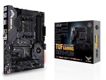 ASUS TUF GAMING X570-PLUS 01 PCパーツ マザーボード | メインボード AMD用メインボード