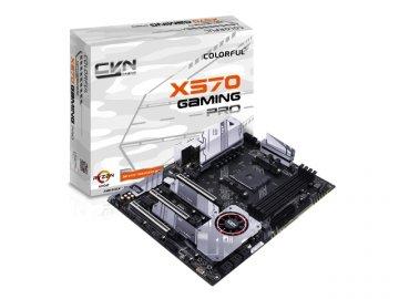 COLORFUL CVN X570 GAMING PRO V14 01 PCパーツ マザーボード   メインボード AMD用メインボード