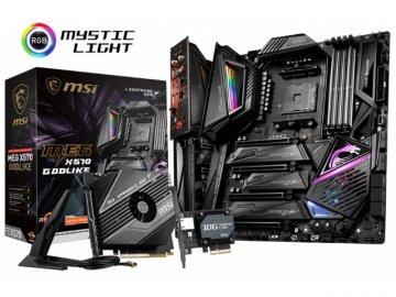 MSI MEG X570 GODLIKE 01 PCパーツ マザーボード | メインボード AMD用メインボード