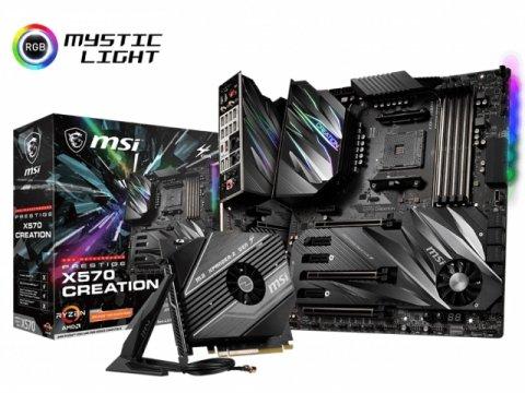 MSI Prestige X570 CREATION 01 PCパーツ マザーボード | メインボード AMD用メインボード