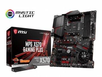 MSI MPG X570 GAMING PLUS 01 PCパーツ マザーボード   メインボード AMD用メインボード