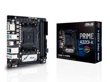 ASUS PRIME A320I-K 01 PCパーツ マザーボード | メインボード AMD用メインボード