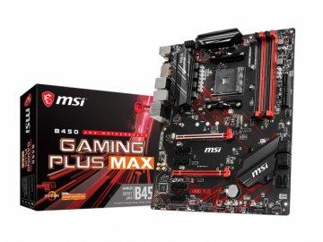 MSI B450 GAMING PLUS MAX 01 PCパーツ マザーボード   メインボード AMD用メインボード