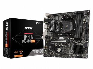 MSI B450M PRO-VDH MAX 01 PCパーツ マザーボード | メインボード AMD用メインボード
