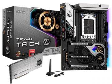 ASRock TRX40 Taichi 01 PCパーツ マザーボード | メインボード AMD用メインボード