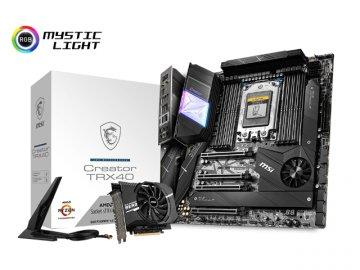 MSI Creator TRX40 01 PCパーツ マザーボード   メインボード AMD用メインボード