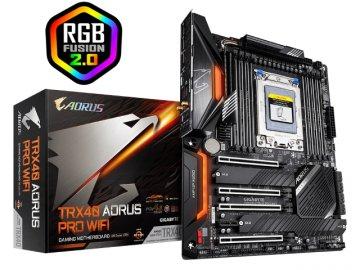 GIGABYTE TRX40 AORUS PRO WIFI 01 PCパーツ マザーボード | メインボード AMD用メインボード