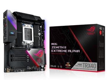 ASUS ROG ZENITH II EXTREME ALPHA 01 PCパーツ マザーボード   メインボード AMD用メインボード