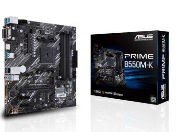 ASUS PRIME B550M-K 01 PCパーツ マザーボード | メインボード AMD用メインボード