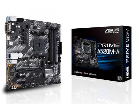 ASUS PRIME A520M-A 01 PCパーツ マザーボード | メインボード AMD用メインボード