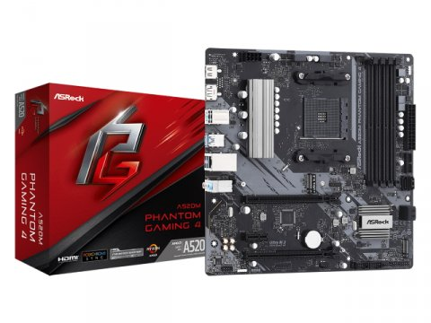 ASRock A520M Phantom Gaming 4
