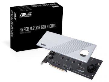 ASUS HYPER M.2 X16 GEN 4 Card 01 PCパーツ マザーボード   メインボード マザーボード拡張パーツ