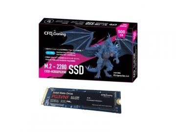 CFD CSSD-M2B5GPG3VNF 01 PCパーツ ドライブ・ストレージ SSD
