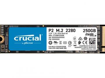 Crucial CT250P2SSD8JP 01 PCパーツ ドライブ・ストレージ SSD