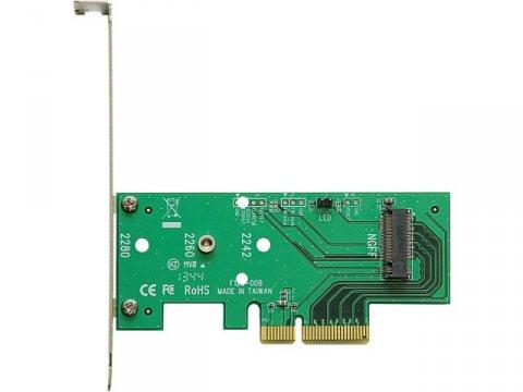 玄人志向 M.2-PCIE 01 PCパーツ 周辺機器 拡張カード 変換アダプタ