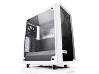 Meshify C White Tempered Glass