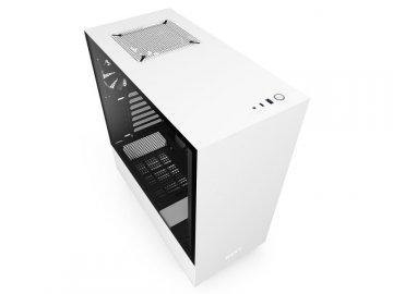 NZXT CA-H510I-W1 H510i 白/黒 01 PCパーツ PCケース | 電源ユニット PCケース