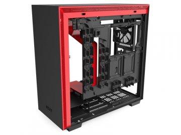NZXT CA-H710I-BR H710i 赤/黒 01 PCパーツ PCケース | 電源ユニット PCケース
