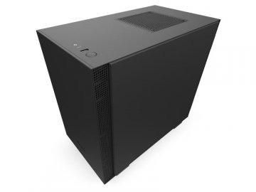NZXT CA-H210B-B1 H210B 黒/黒 01 PCパーツ PCケース | 電源ユニット PCケース