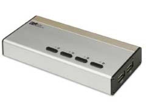 Ratoc REX-430UDA 4x切替器 DVI/USB/WUXGA