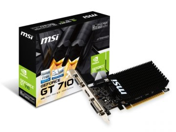 MSI GT 710 2GD3H LP 01 PCパーツ グラフィック・ビデオカード PCI-EXPRESS