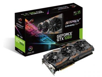 ASUS STRIX-GTX1060-O6G-GAMING 01 PCパーツ グラフィック・ビデオカード PCI-EXPRESS