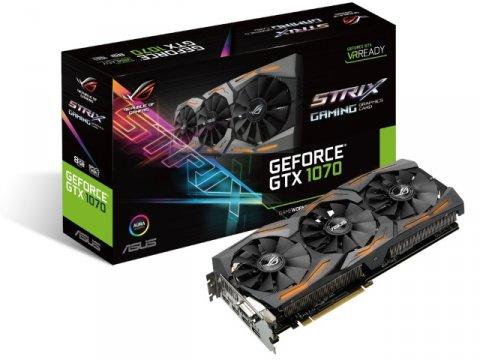 ASUS STRIX-GTX1070-8G-GAMING 01 PCパーツ グラフィック・ビデオカード PCI-EXPRESS