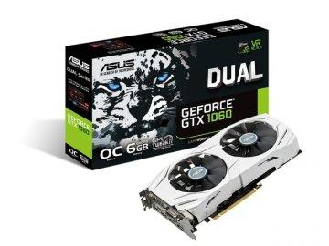 ASUS DUAL-GTX1060-O6G 01 PCパーツ グラフィック・ビデオカード PCI-EXPRESS