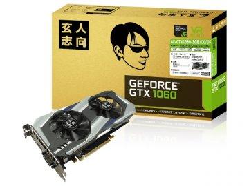 玄人志向 GF-GTX1060-3GB/OC/DF 01 PCパーツ グラフィック・ビデオカード PCI-EXPRESS