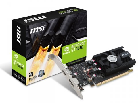 MSI GEFORCE GT 1030 2G LP OC 01 PCパーツ グラフィック・ビデオカード PCI-EXPRESS