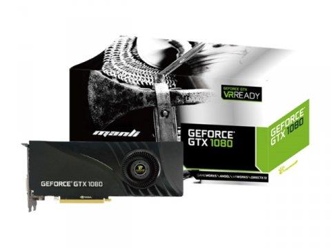 Manli M-NGTX1080/5RGHDPPP-BL 01 PCパーツ グラフィック・ビデオカード PCI-EXPRESS