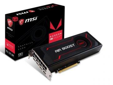 MSI RADEON RX VEGA 64 AIR BOOST 8G OC 01 PCパーツ グラフィック・ビデオカード PCI-EXPRESS