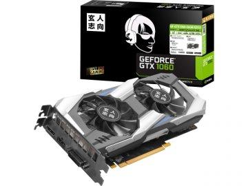 玄人志向 GF-GTX1060-E6GB/GD5X 01 PCパーツ グラフィック・ビデオカード PCI-EXPRESS