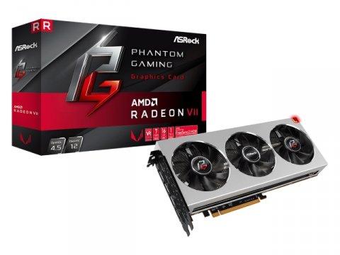 ASRock PG X RADEON VII 16G 01 PCパーツ グラフィック・ビデオカード PCI-EXPRESS