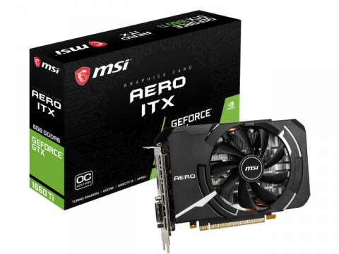 MSI GeForce GTX 1660 Ti AERO ITX 6G OC 01 PCパーツ グラフィック・ビデオカード PCI-EXPRESS