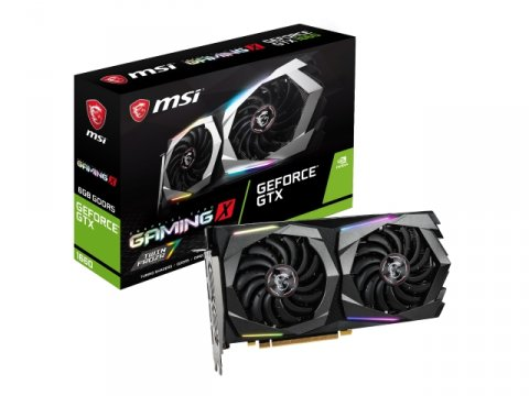 MSI GeForce GTX 1660 GAMING X 6G 01 PCパーツ グラフィック・ビデオカード PCI-EXPRESS