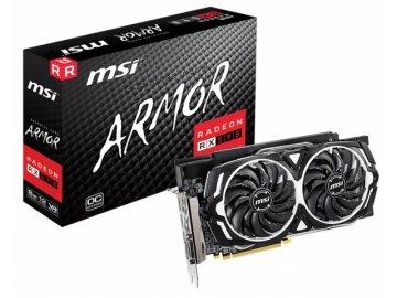 MSI RADEON RX 590 ARMOR 8G OC 01 PCパーツ グラフィック・ビデオカード PCI-EXPRESS