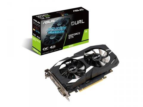ASUS DUAL-GTX1650-O4G 01 PCパーツ グラフィック・ビデオカード PCI-EXPRESS