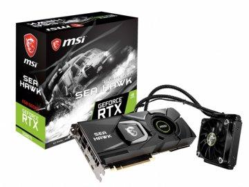 MSI GeForce RTX 2080 Ti SEA HAWK X 01 PCパーツ グラフィック・ビデオカード PCI-EXPRESS