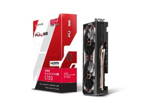PULSE RADEON RX 5700 8G GDDR6 HDMI / TRIPLE DP OC W/ BP (UEFI)