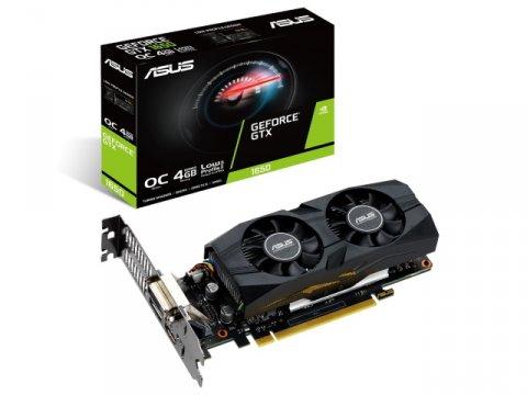 ASUS GTX1650-O4G-LP-BRK 01 PCパーツ グラフィック・ビデオカード PCI-EXPRESS