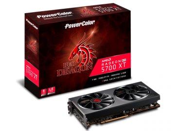 PowerColor AXRX 5700XT 8GBD6-3DHR/OC 01 PCパーツ グラフィック・ビデオカード PCI-EXPRESS