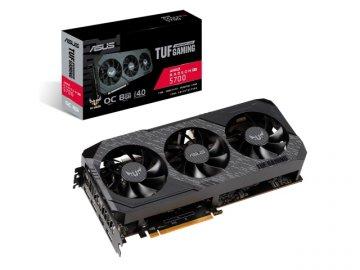 ASUS TUF 3-RX5700-O8G-GAMING 01 PCパーツ グラフィック・ビデオカード PCI-EXPRESS